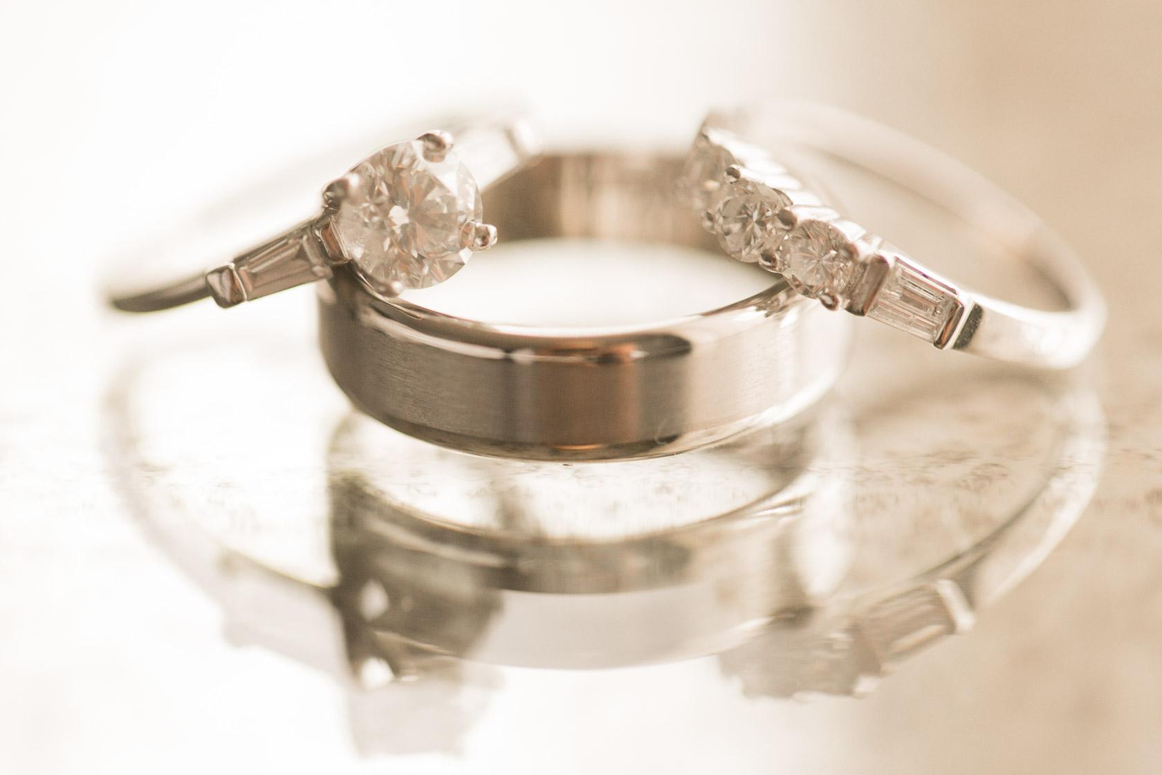 New Years Eve Wedding rings
