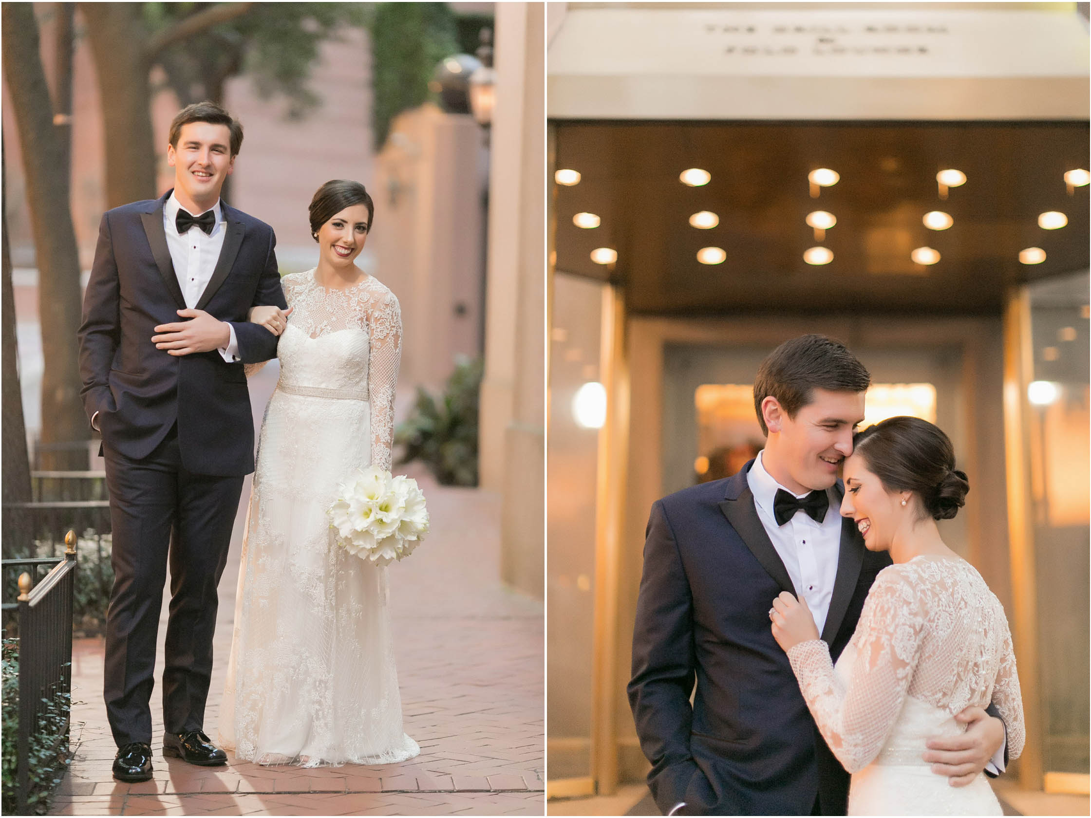 new years eve wedding new orleans bride and groom formals