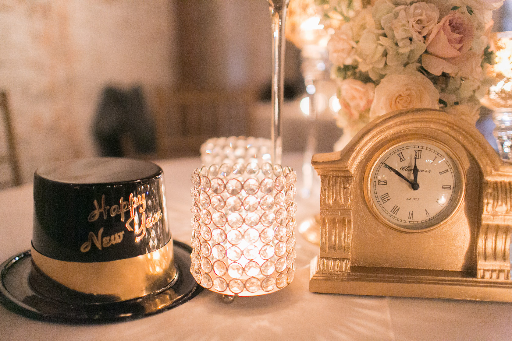new years eve wedding new orleans almost midnight favors