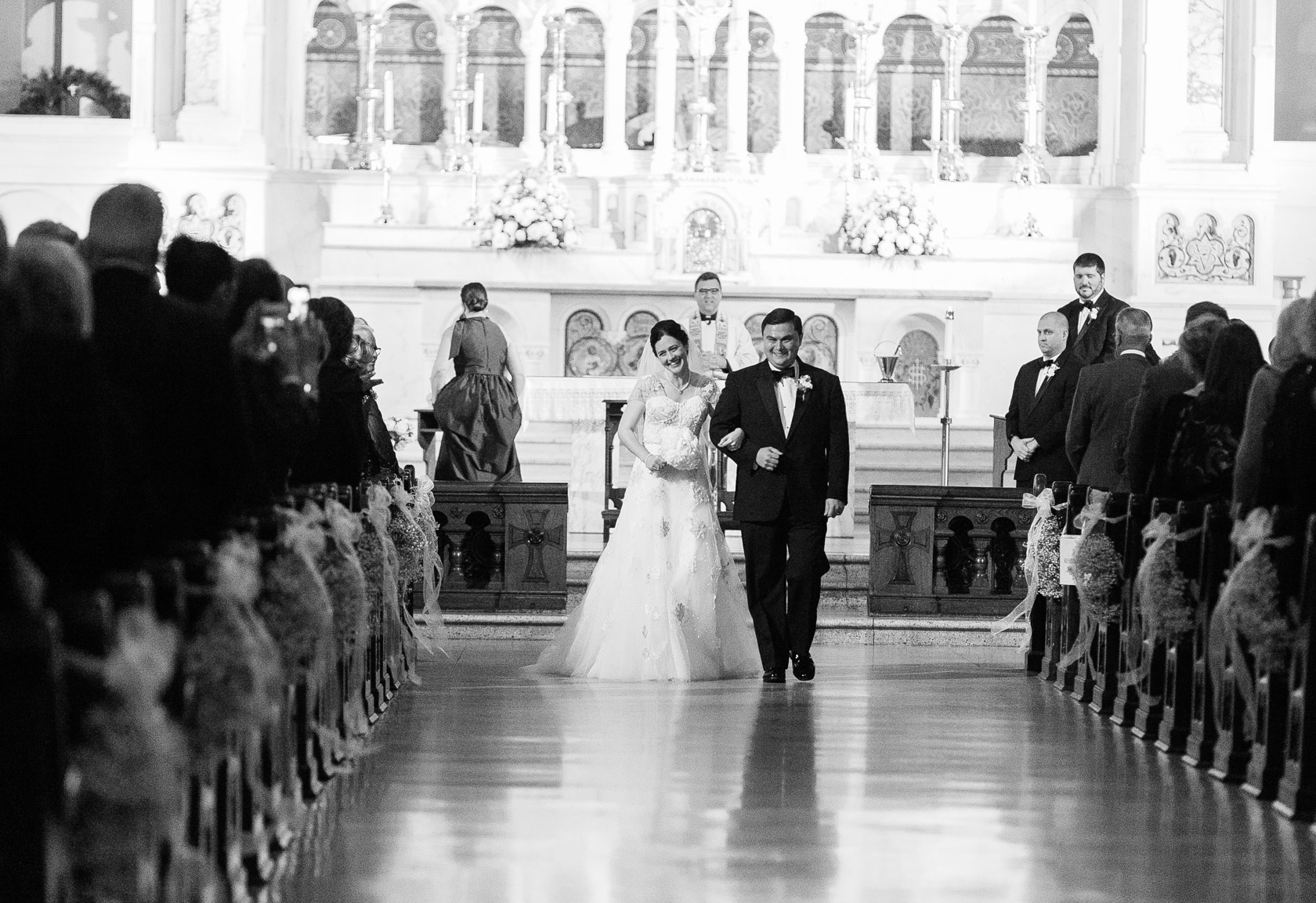 new orleans st joseph wedding recessional - 01