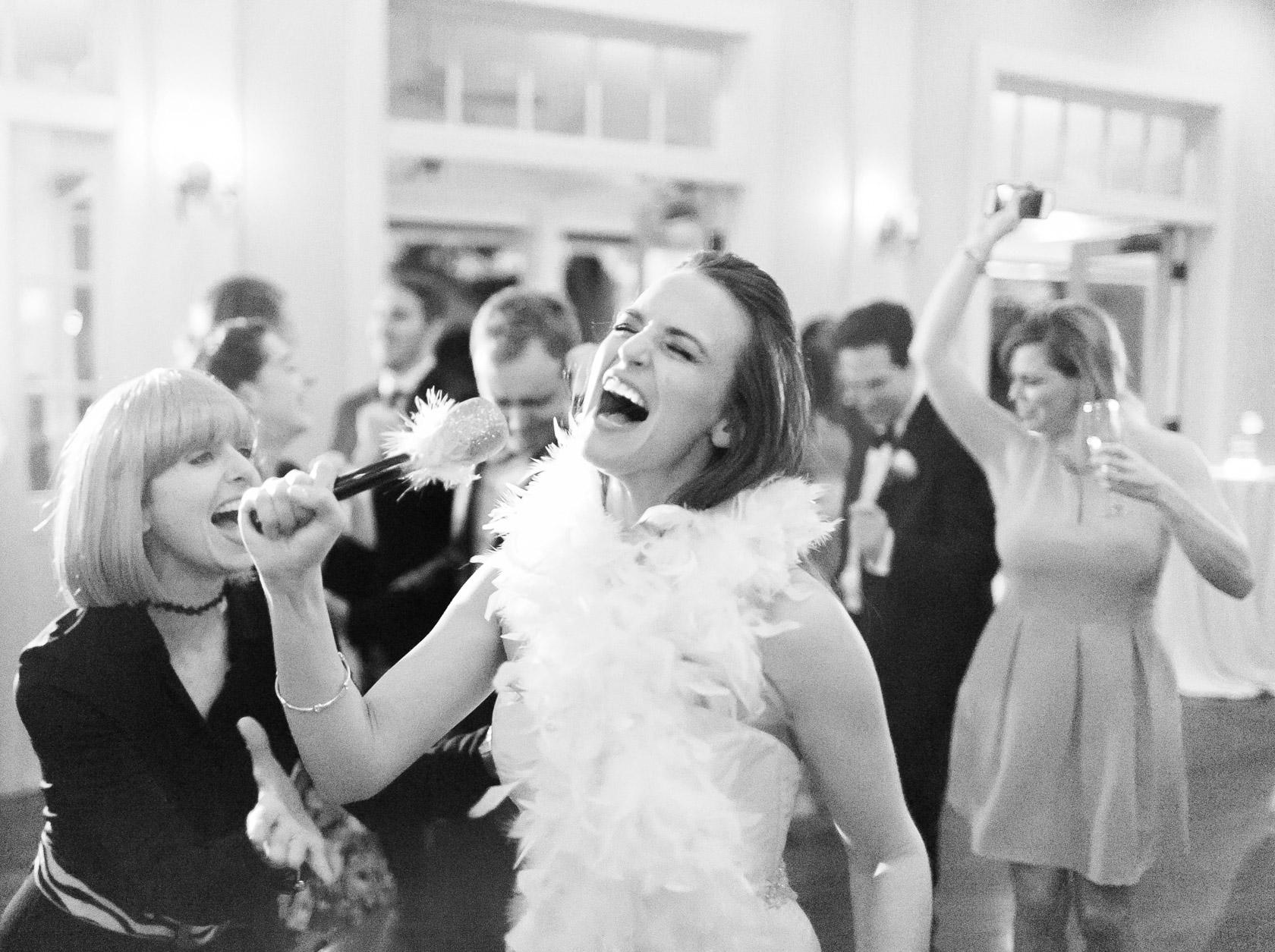 audubon clubhouse bride rocking out