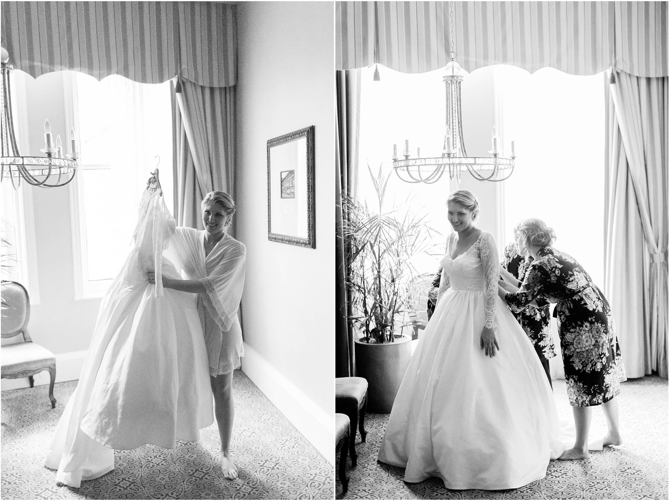 the roosevelt hotel wedding bridal prep