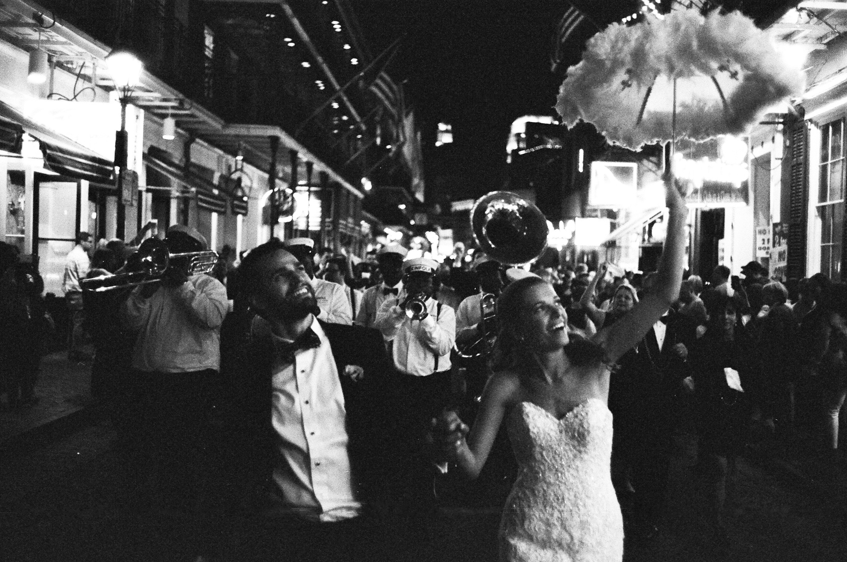 french quarter wedding second line 03