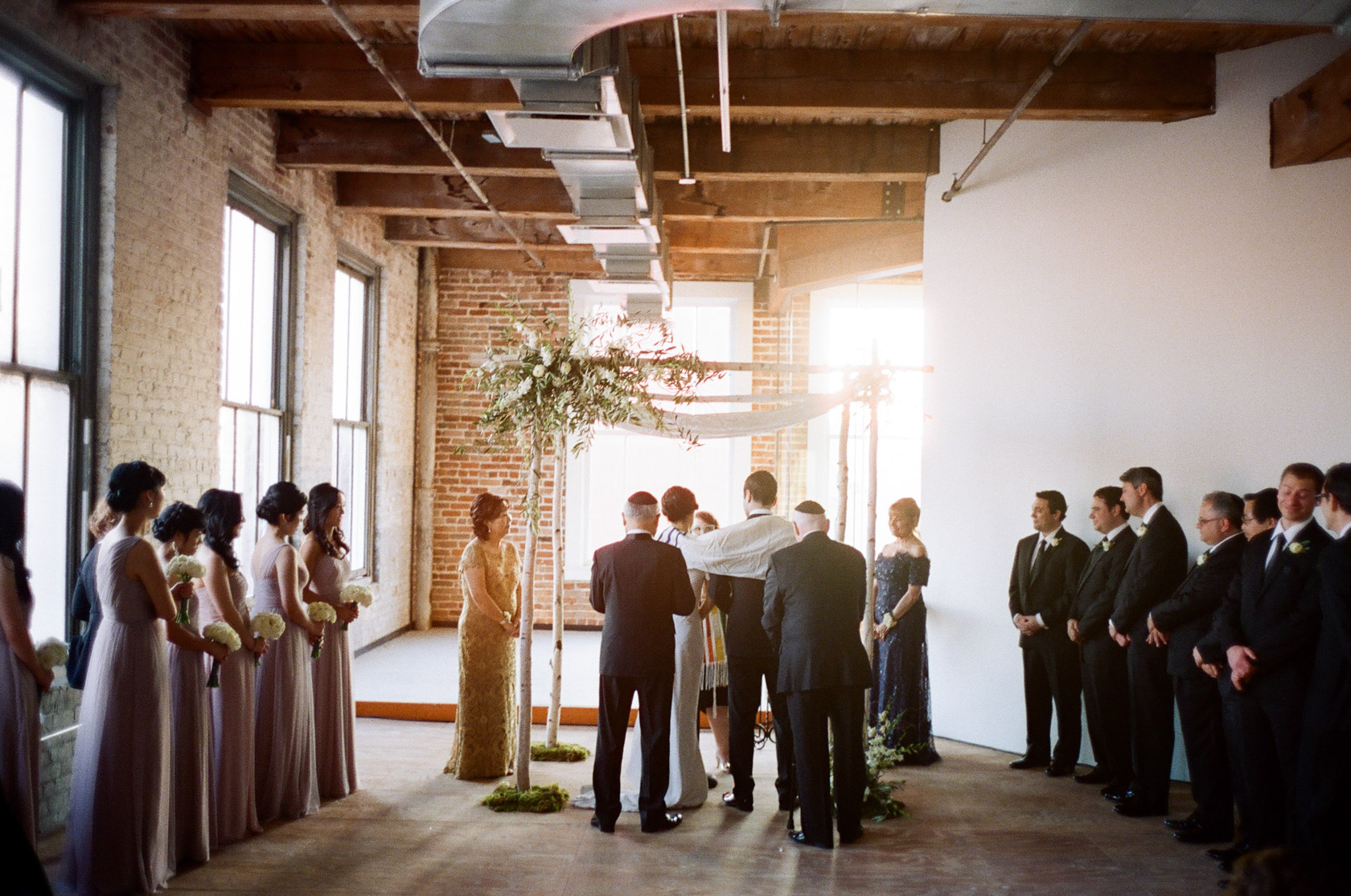 new orleans wedding ceremony on film at cac - 03