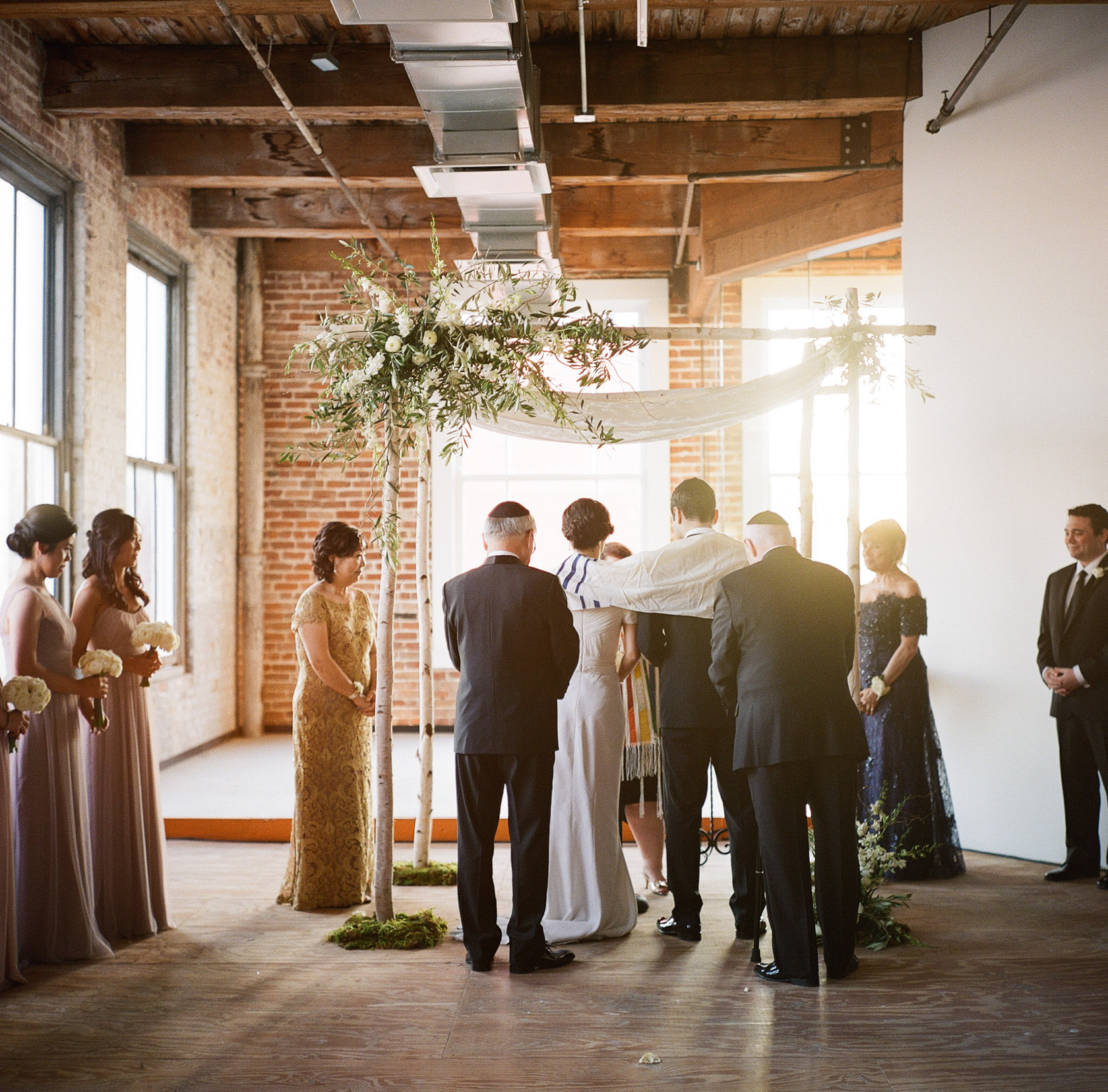 new orleans wedding ceremony on film at cac - 06