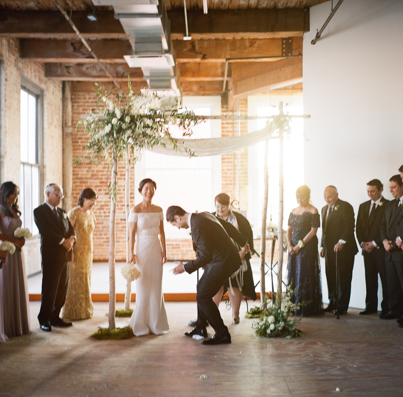 new orleans wedding ceremony on film at cac - 07