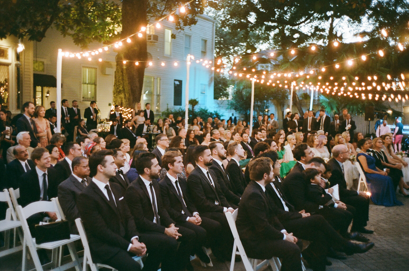 the elms mansion new orleans guests at ceremony