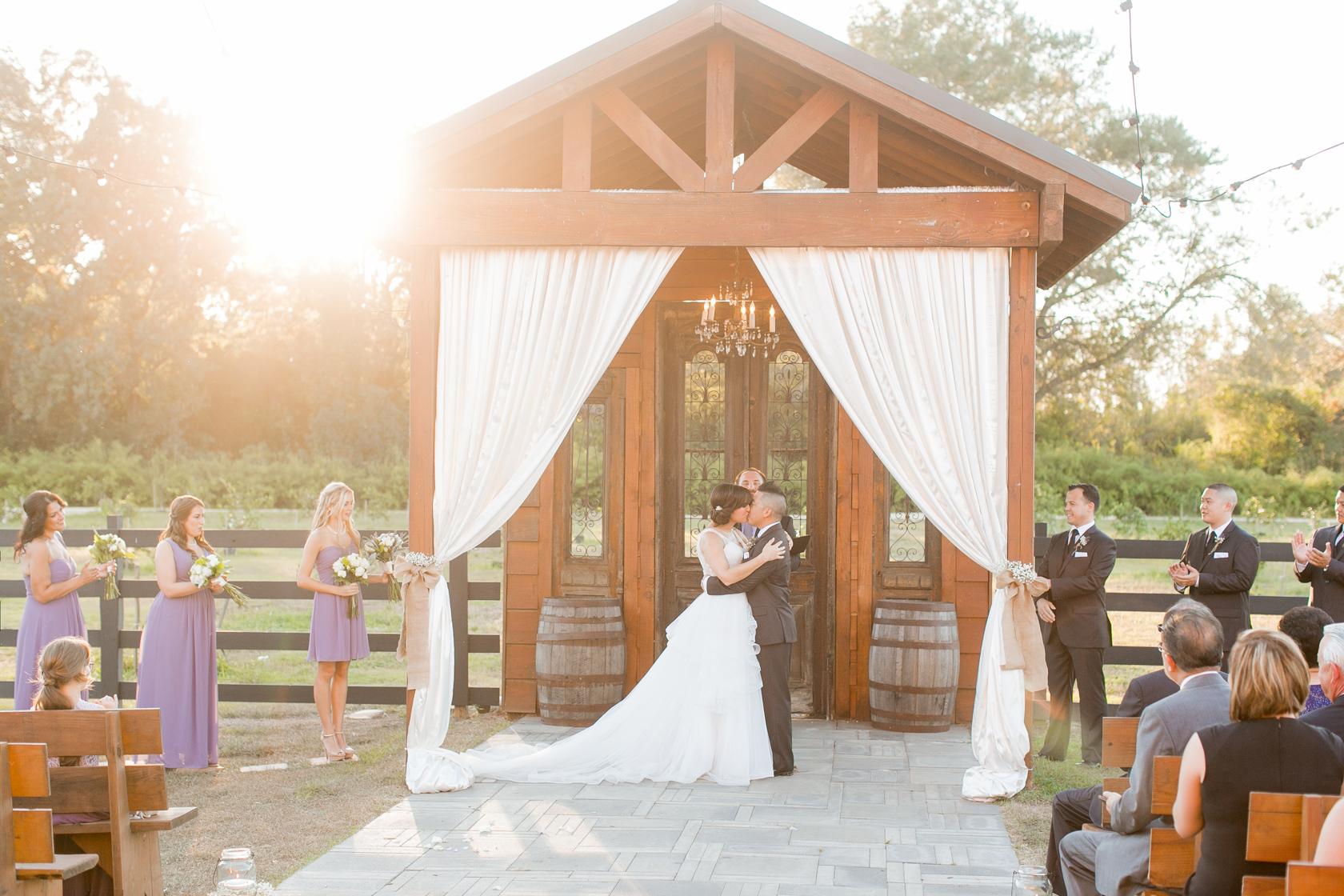 berry barn wedding ceremony - 05