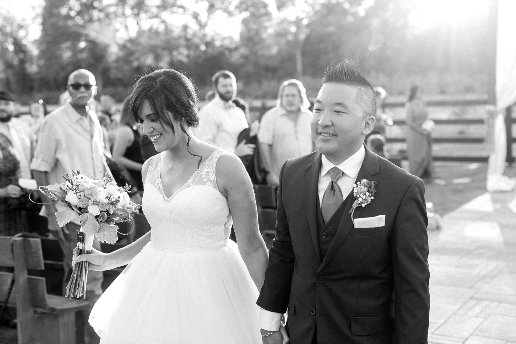 berry barn wedding ceremony - 07