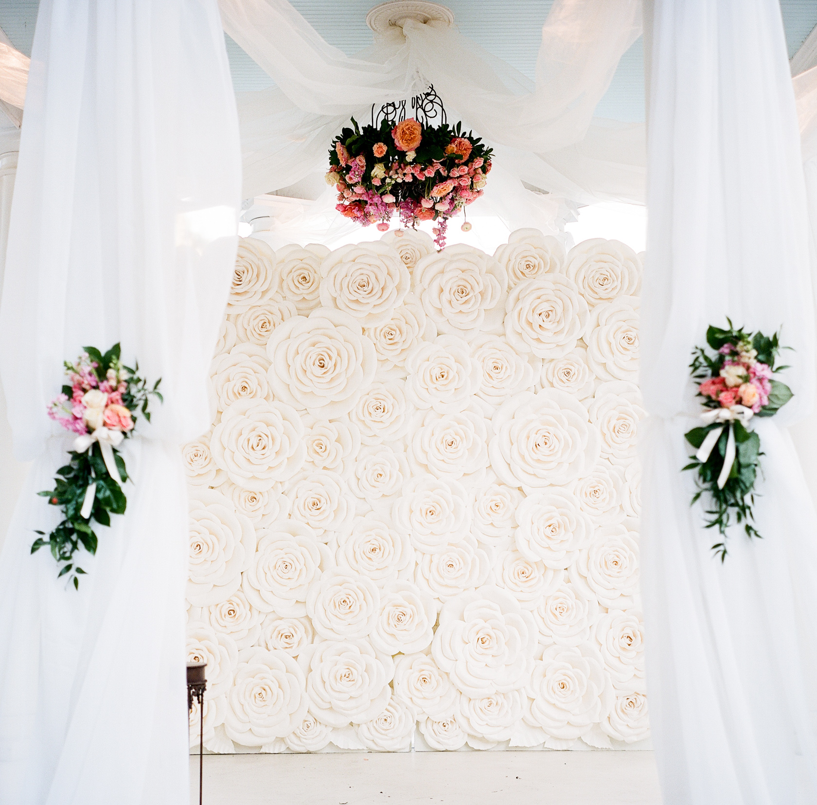 elms mansion wedding floral details 02