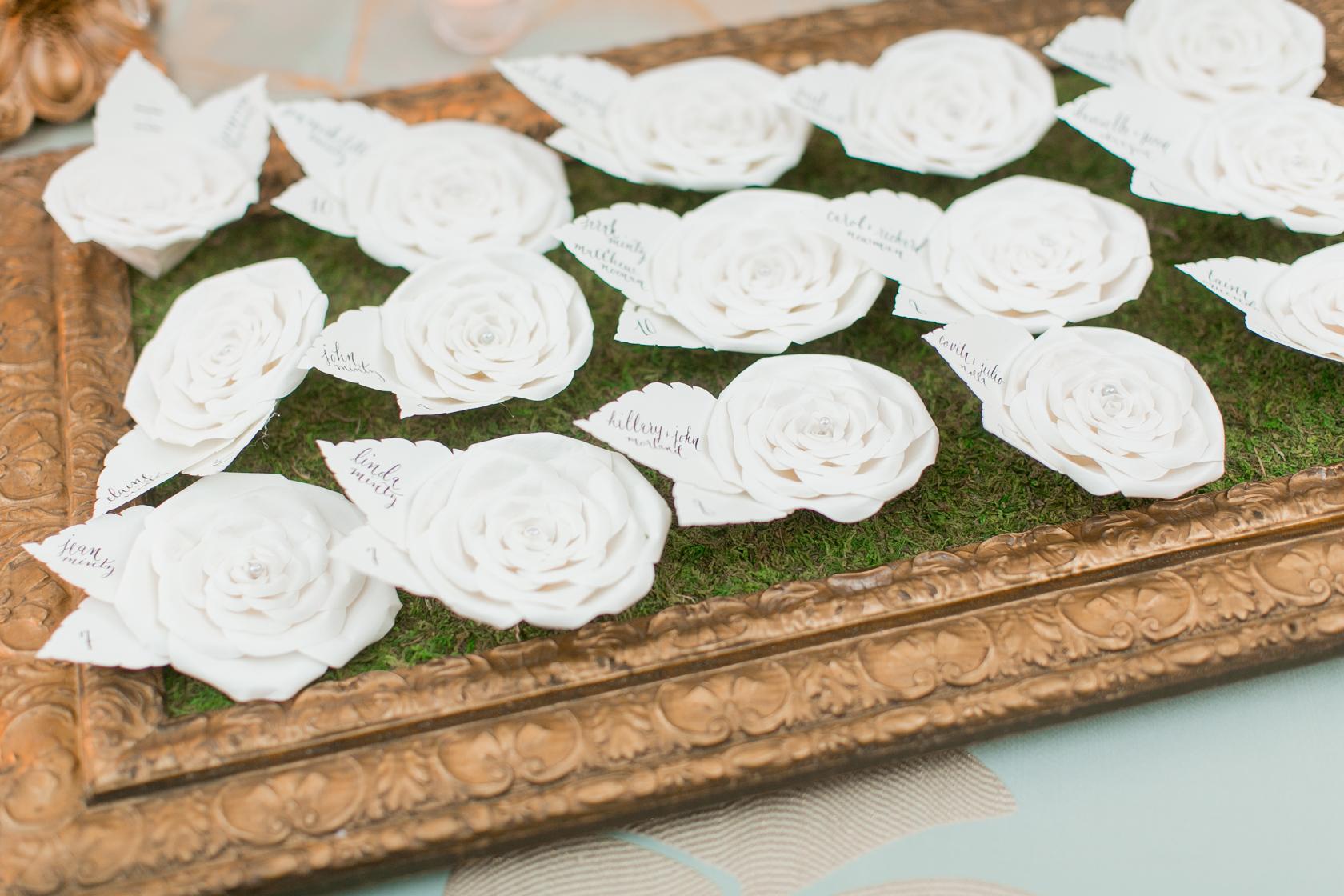 elms mansion wedding floral details 05