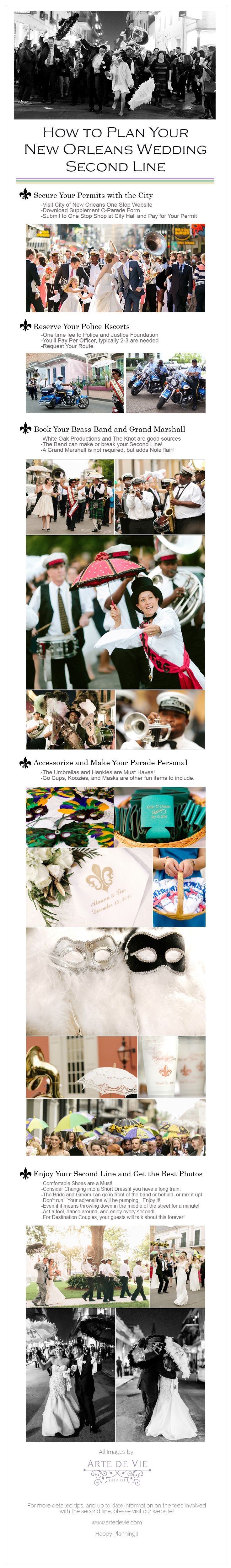 How to plan your 2nd Line for a new orleans wedding