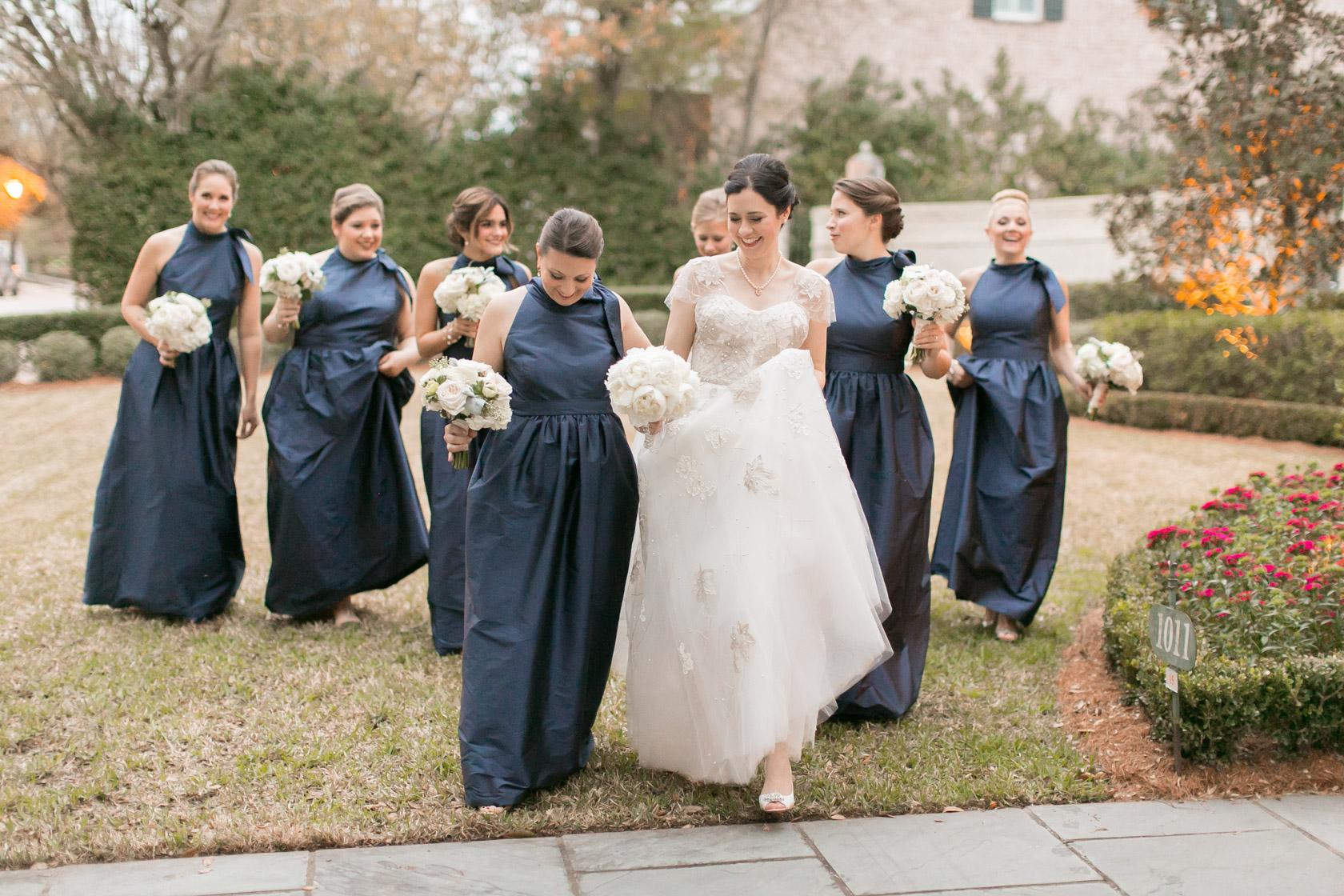 new orleans civic theatre wedding bridesmaids - 09