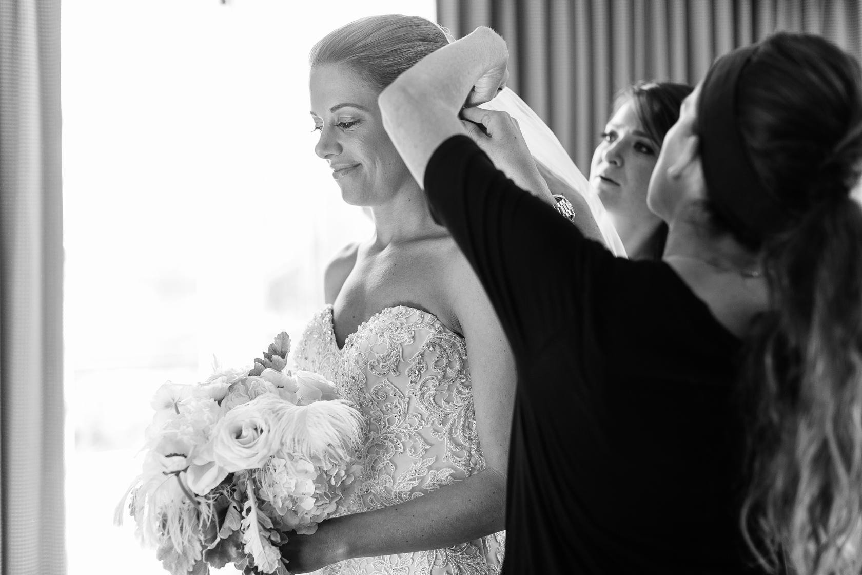 omni royal orleans wedding bride getting ready