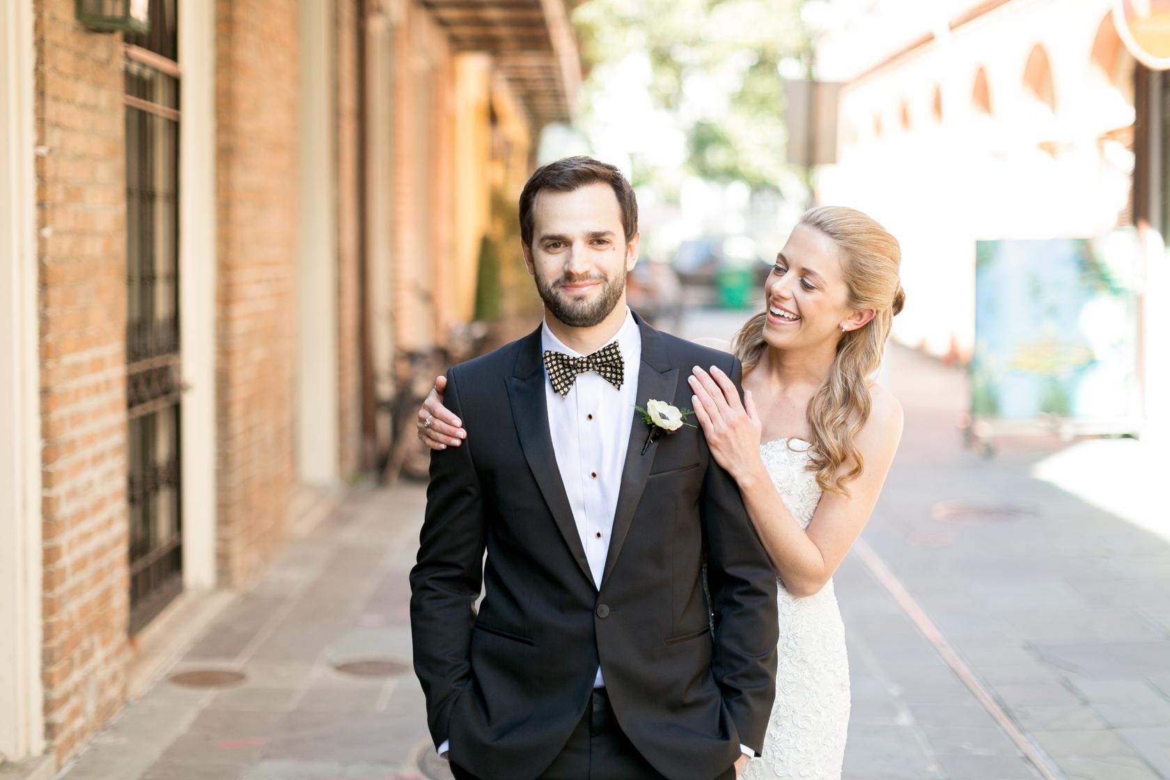 omni royal orleans wedding first look