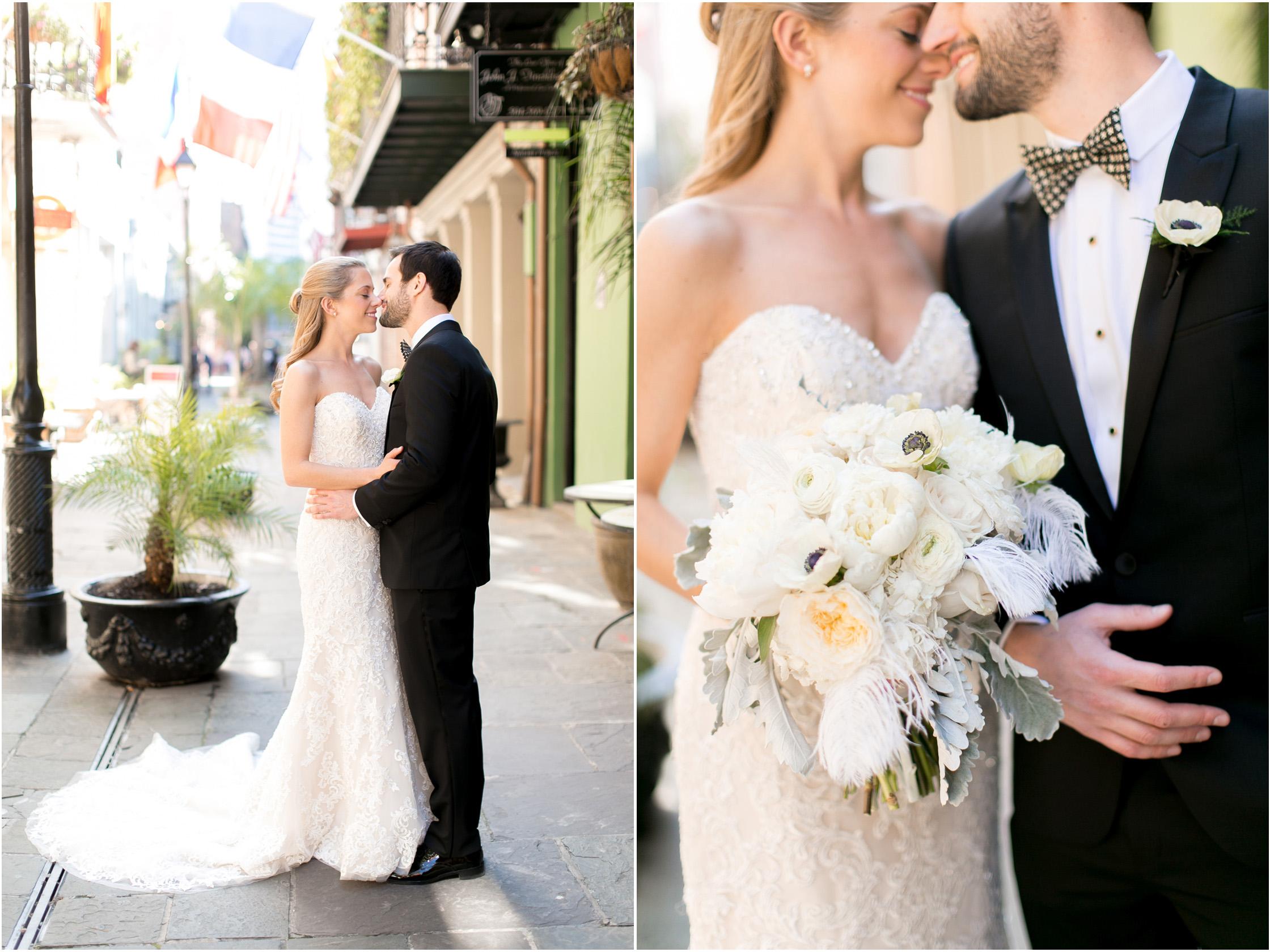 omni royal orleans wedding bride and groom portraits 02