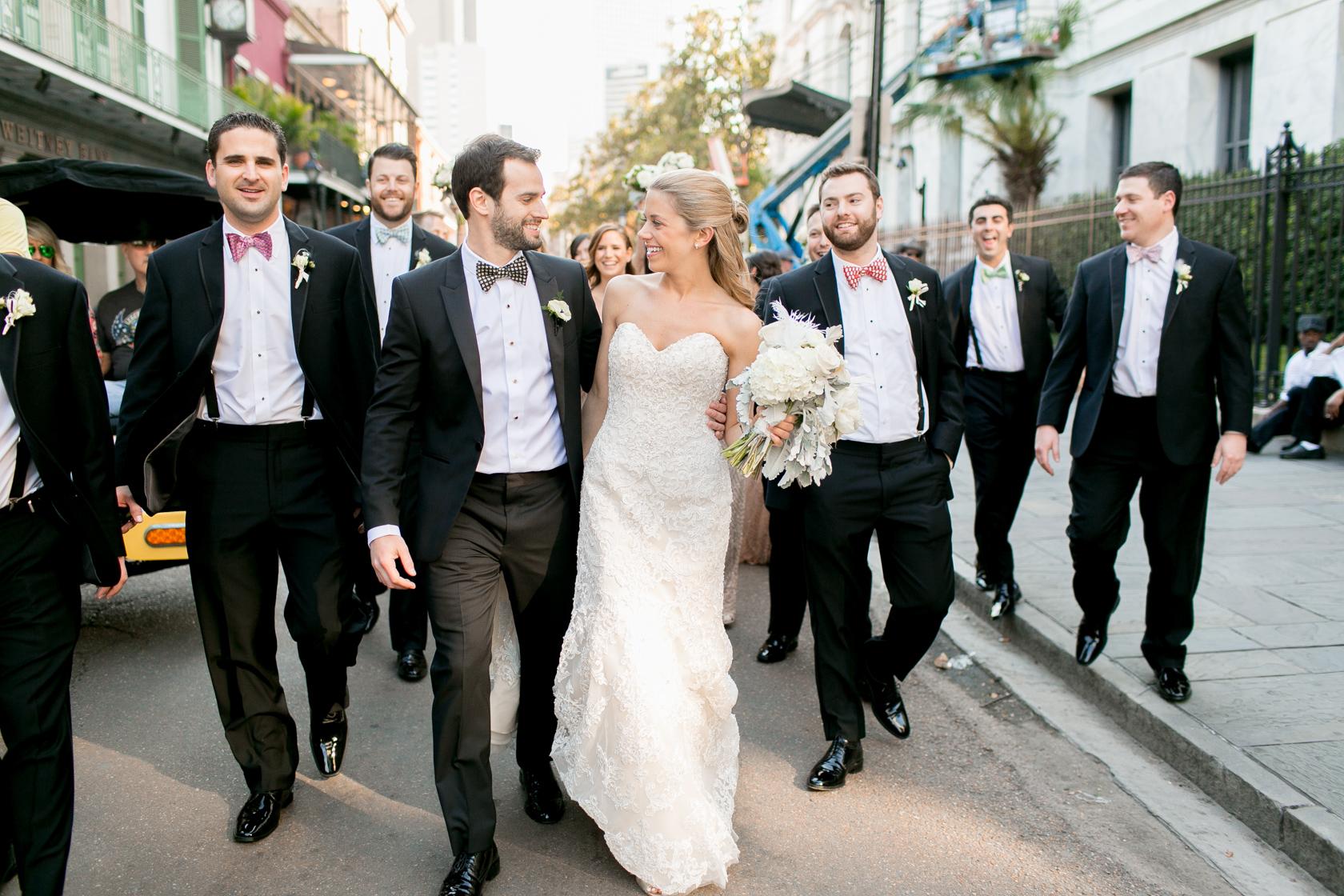 omni royal orleans wedding party