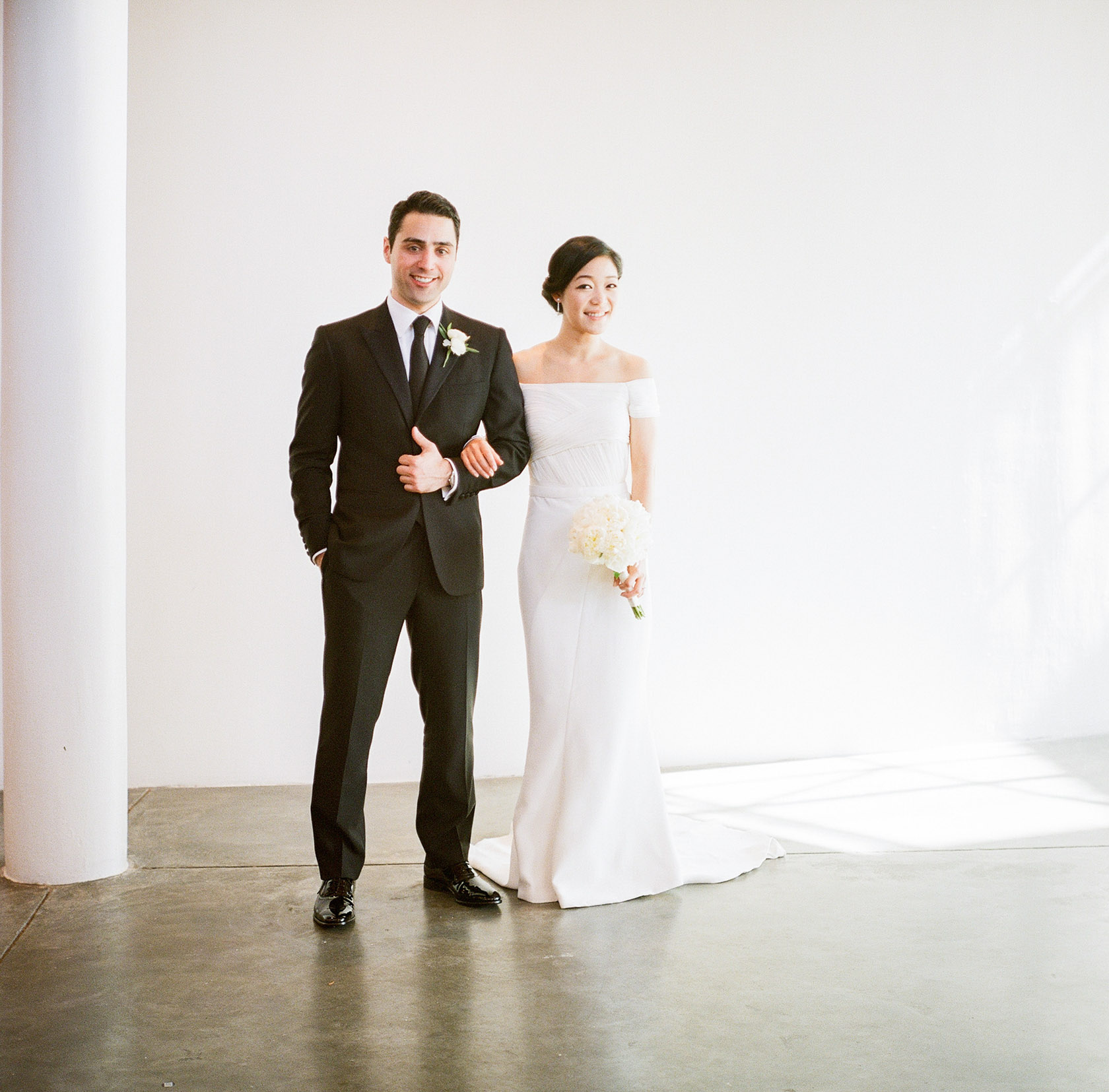 new orleans wedding bride and groom on film at cac - 01
