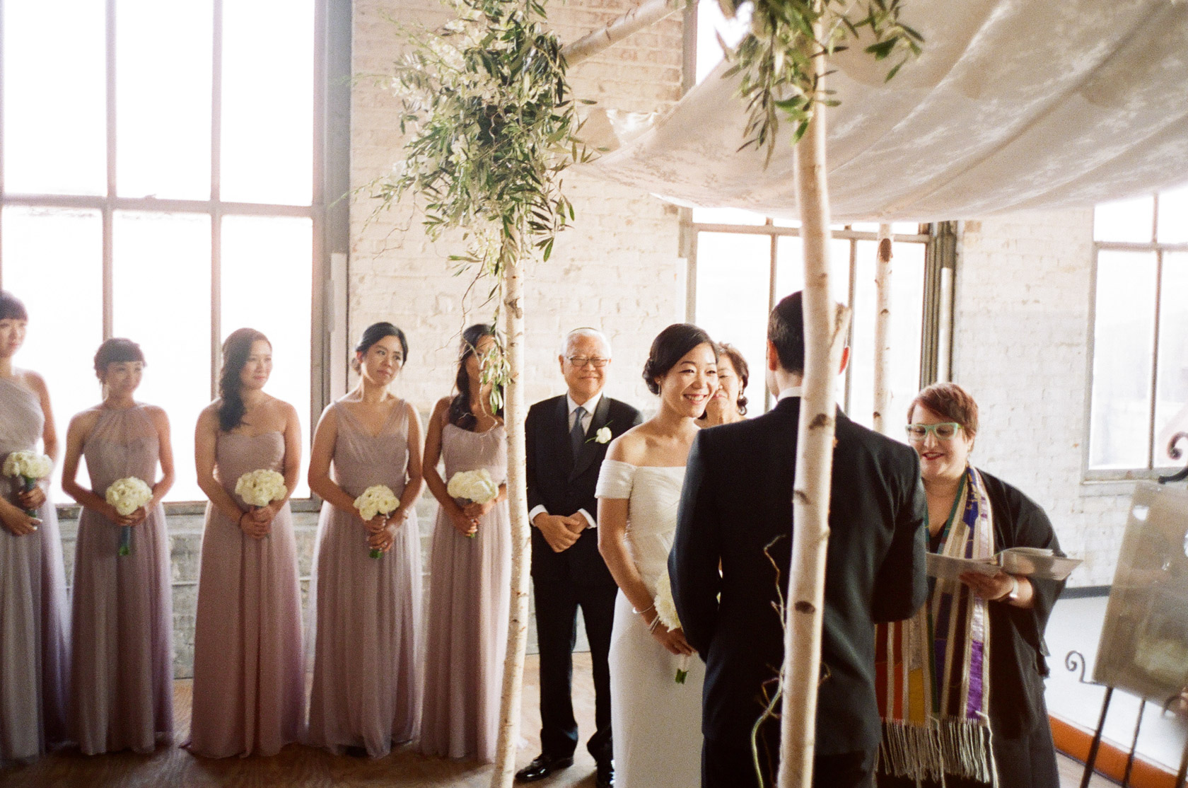 new orleans wedding ceremony on film at cac - 02