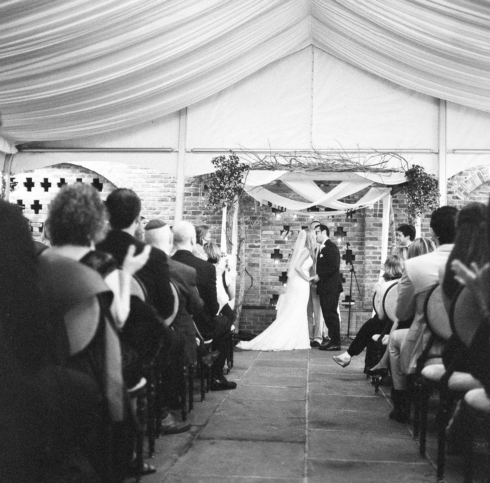 maison dupuy wedding on film 16