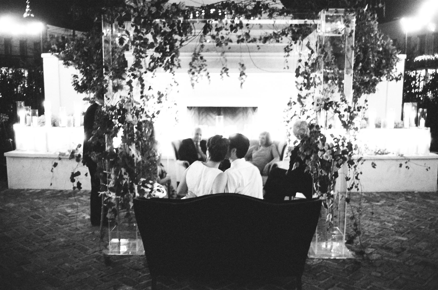 new orleans il mercato wedding reception on film 02