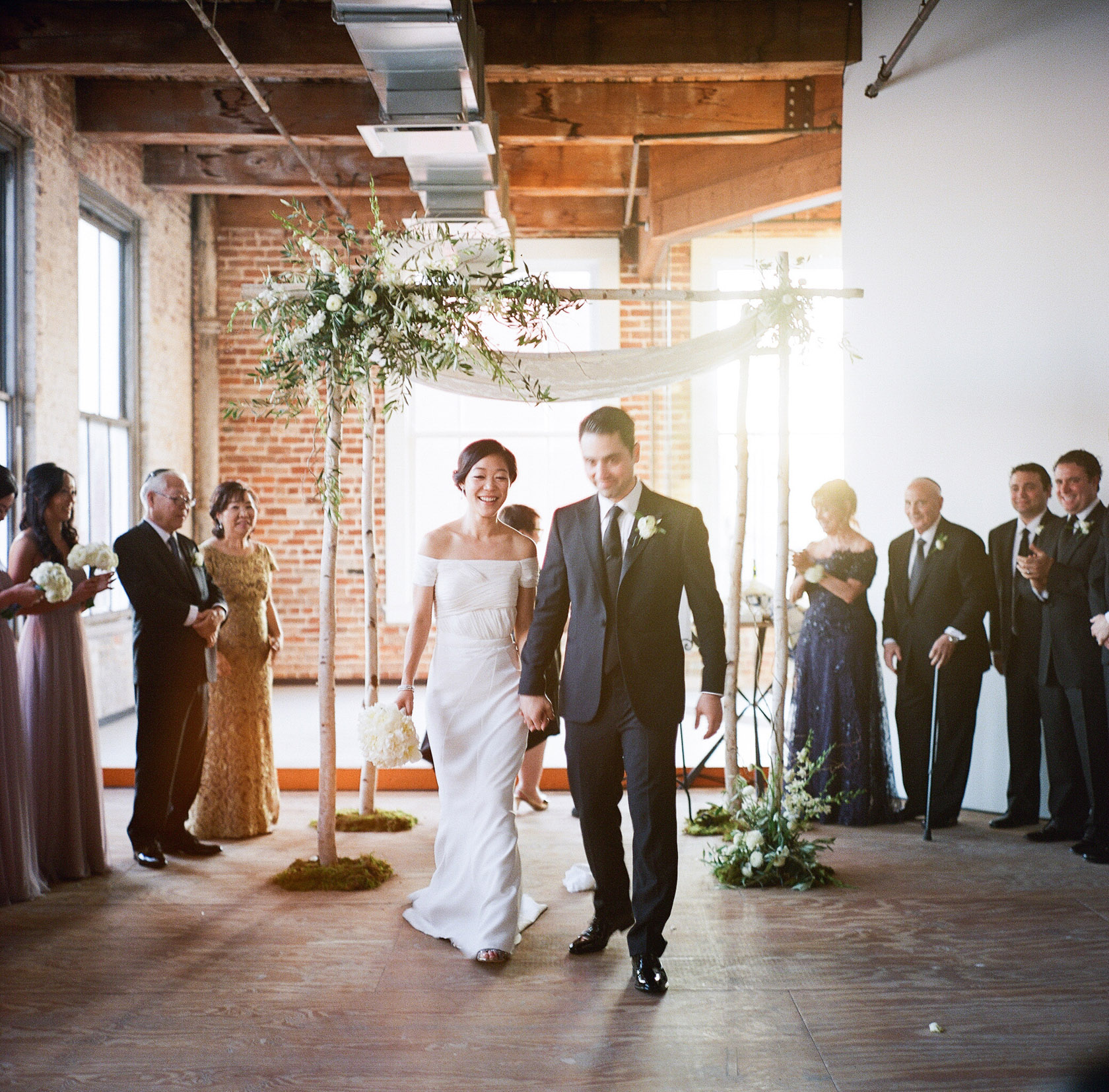 Contemporary arts center new orleans wedding ceremony