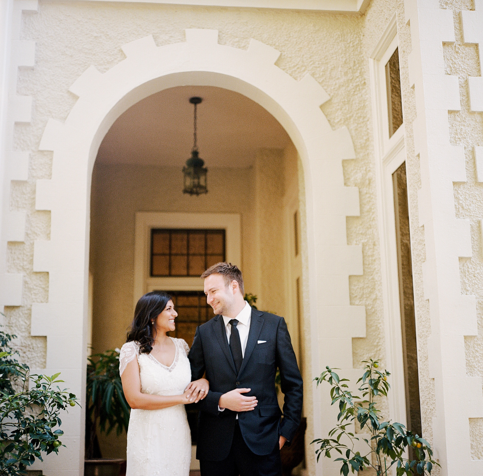 new orleans wedding bride and groom portraits