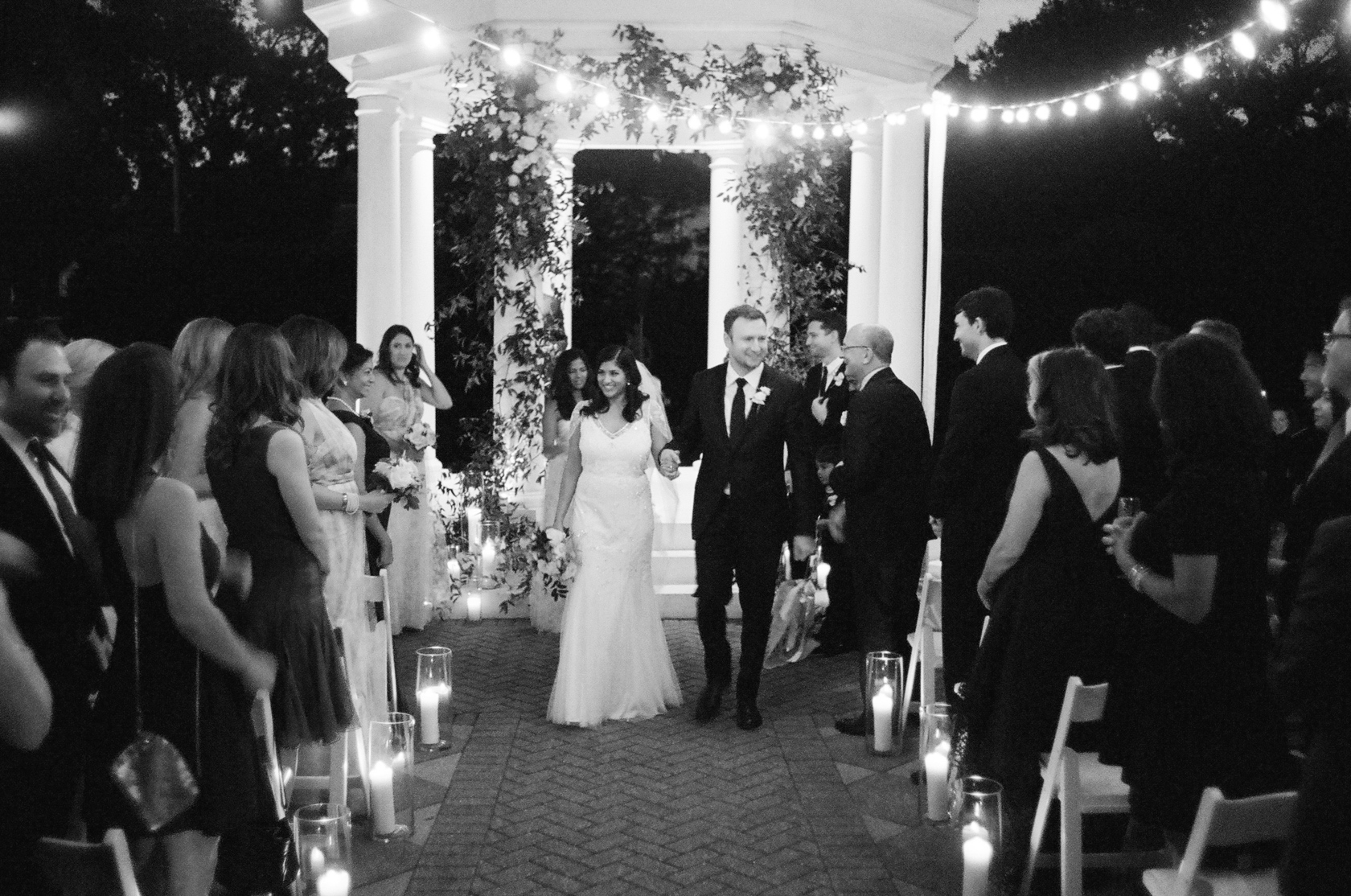 the elms mansion new orleans bride and groom ceremony