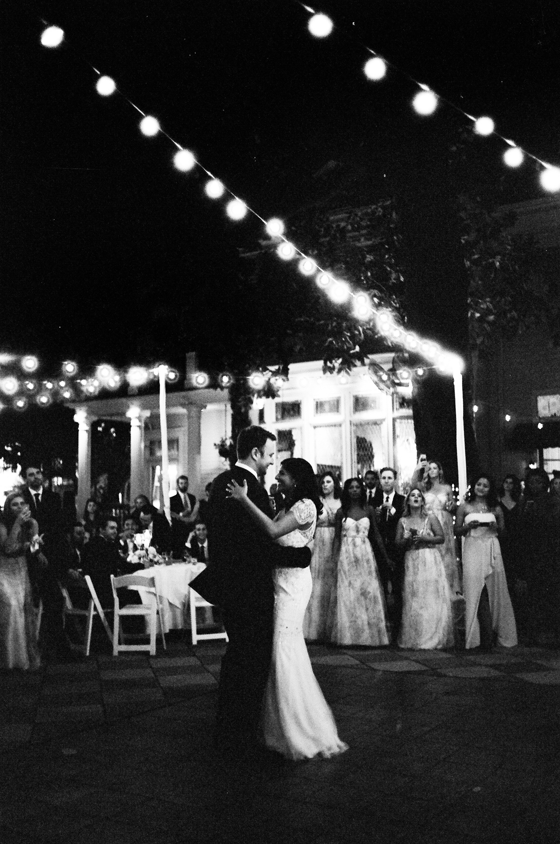 the elms mansion new orleans wedding bride and groom first dance