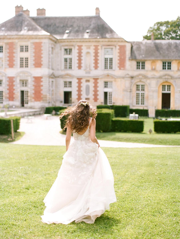 chateau de vallery american bride