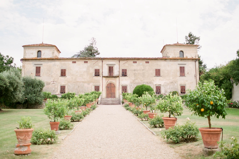 tuscan villa medicea di lilliano