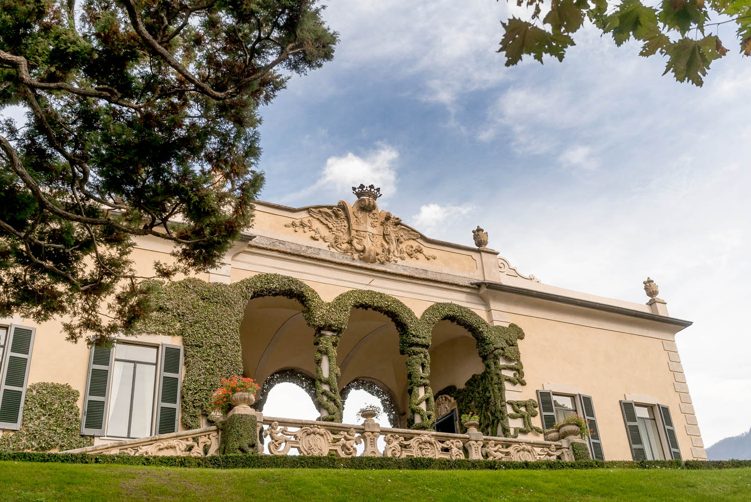 wedding venue in lake como villa balbianello