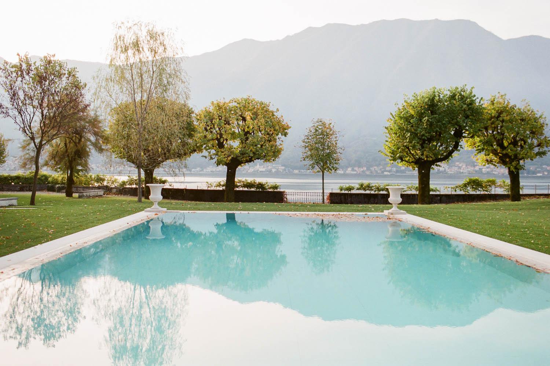 villa balbiano pool