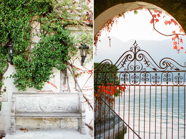 villa balbiano exterior details