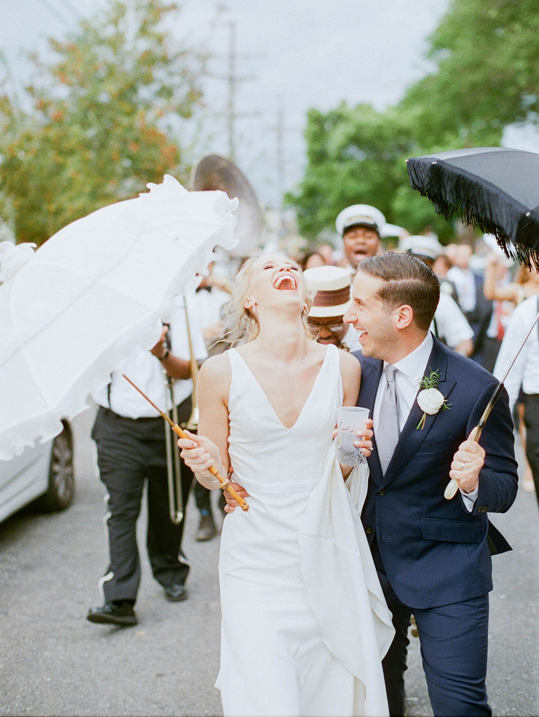 new orleans marigny opera house wedding second line 03