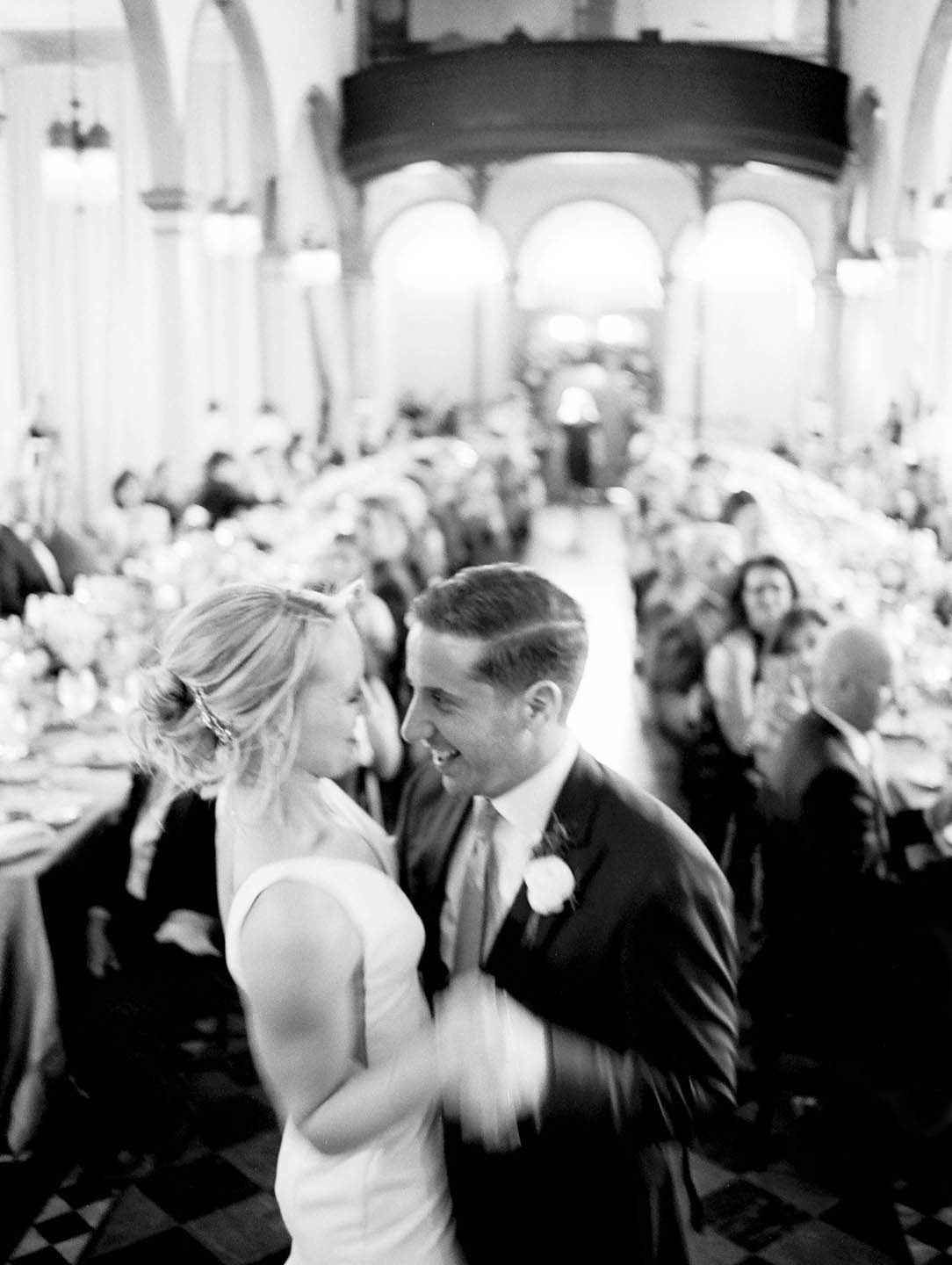 new orleans marigny opera house wedding reception first dance