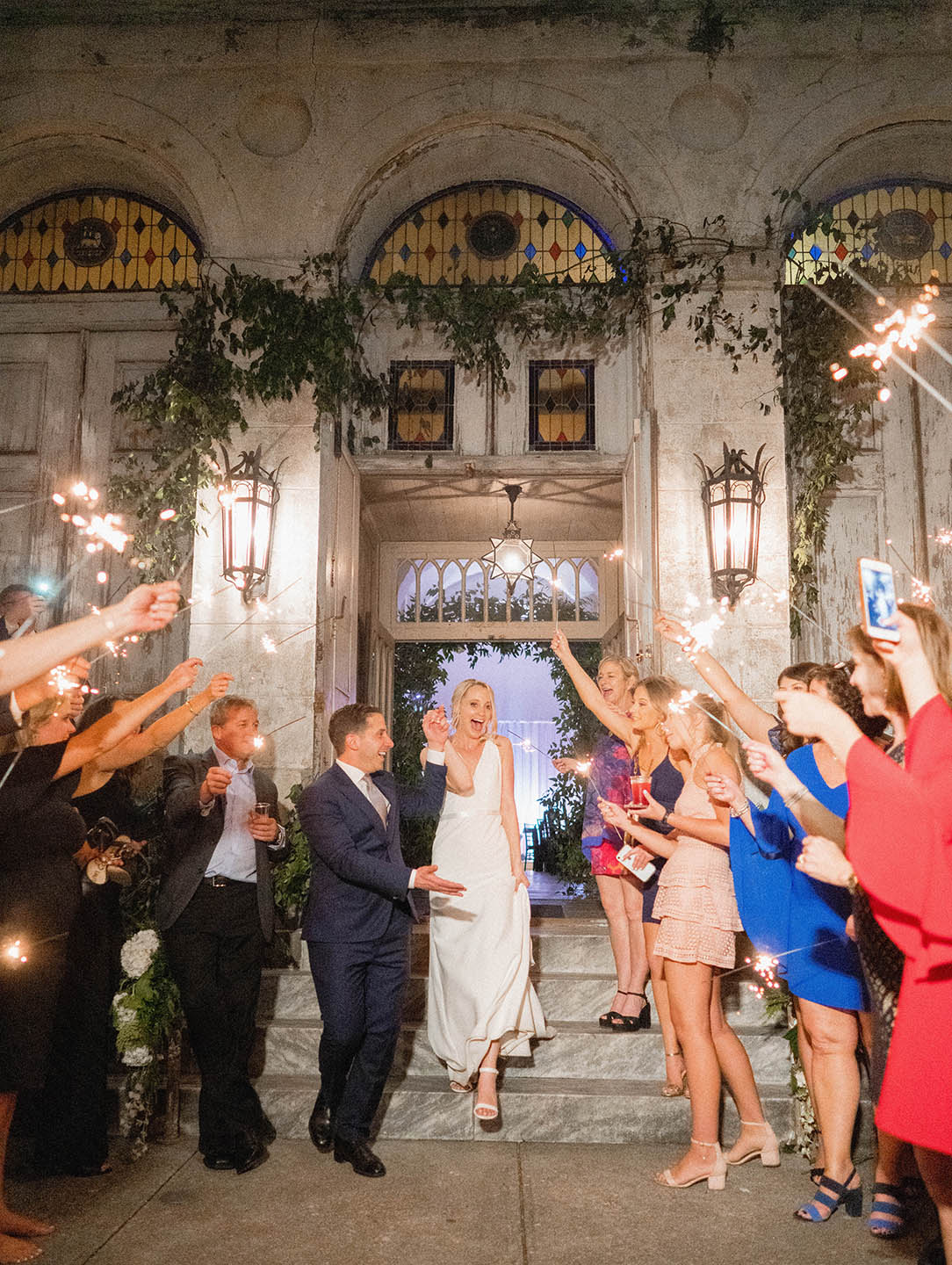 new orleans marigny opera house wedding reception sparkling departure