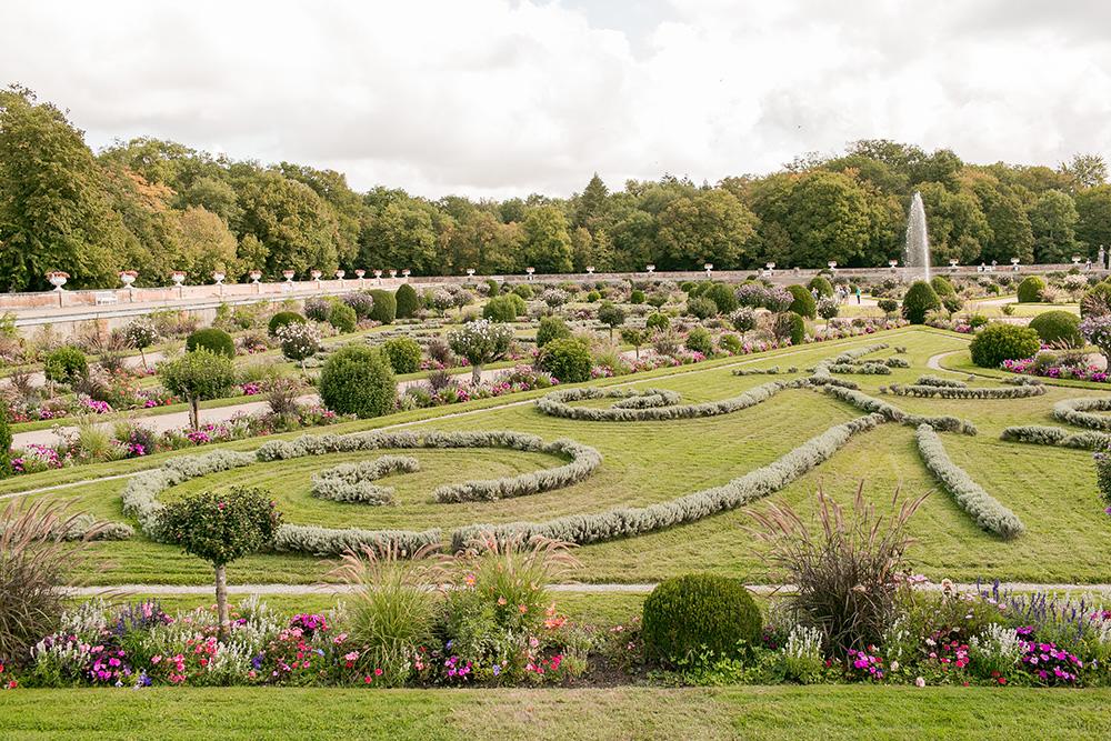 chateau chenonceau loire valley garden